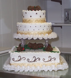 3 Tiered Wedding Cake ...